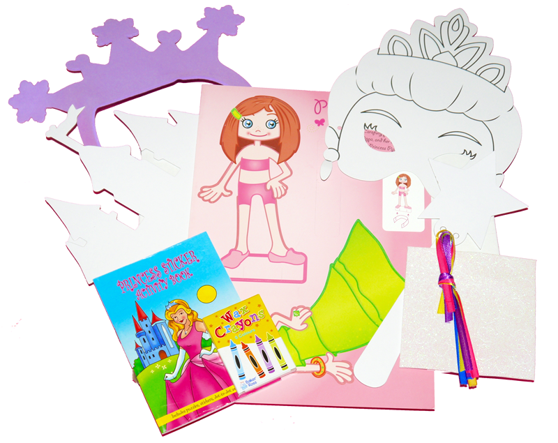 Girls example craft box